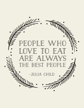 Best people - julia childs