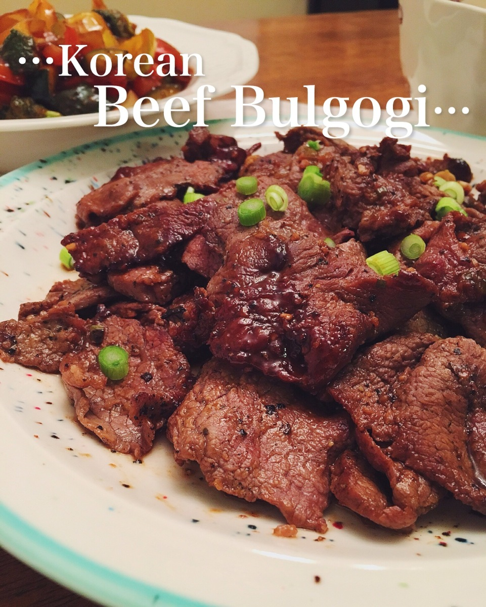Korean Beef Bulgogi