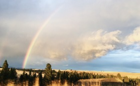 Rainbow over the Palouse