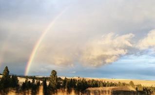 Rainbow over the Palouse